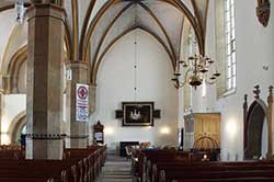 "Pilgerstation in der Stiftskirche ""St. Marien"" in Obernkirchen"