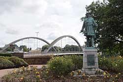 Denkmal des Großen Kurfürsten am Wesertor in Minden
