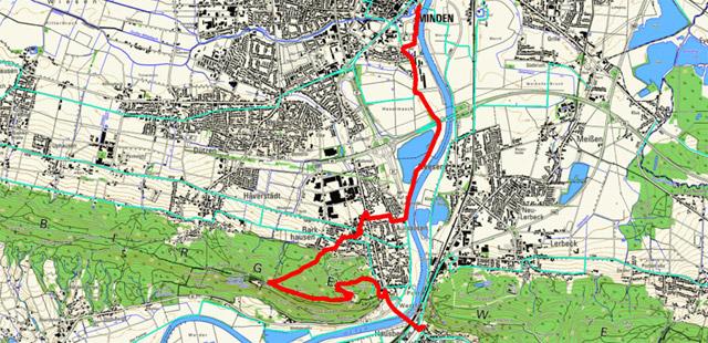 Route Sigwardsweg Etappe 1