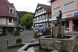 Marktplatz in Hausberge