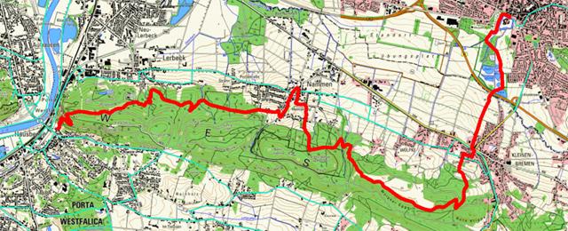 Route Sigwardsweg Etappe 2