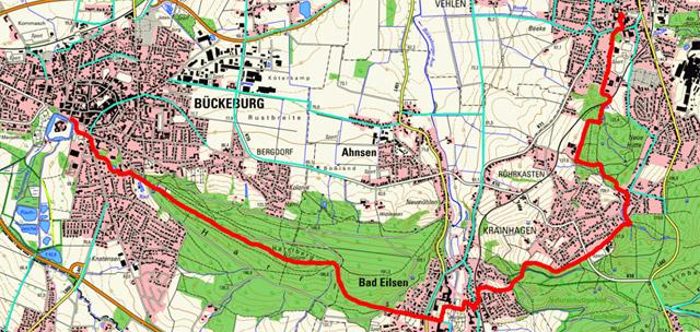 Route Sigwardsweg Etappe 3