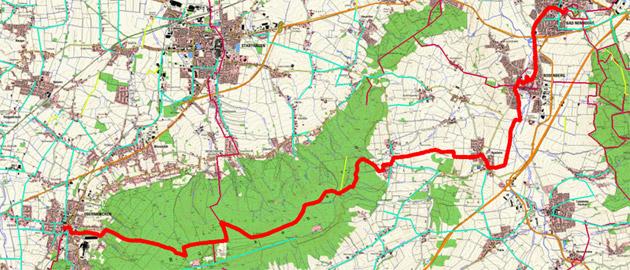 Route Sigwardsweg, Etappe 4