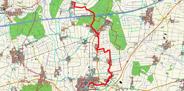 Route Sigwardsweg – Etappe 5