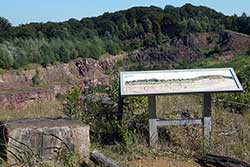 Aussichtspunkt auf der Wülpker Egge
