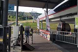 Talstation Kabinenseilbahn
