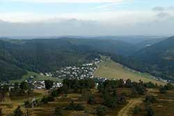 Panoramablick von der Aussichtsplattform