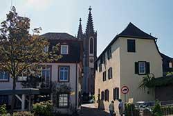 Blick zum Rheingauer Dom