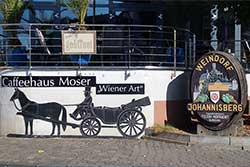 Caffeehaus Moser im Weindorf Johannisberg