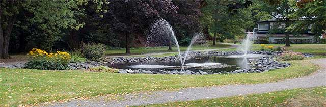 Stadtpark in Usseln