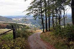 Abstieg vom Krutenberg