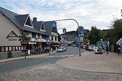 Die heutige Bundesstraße 251 in Usseln