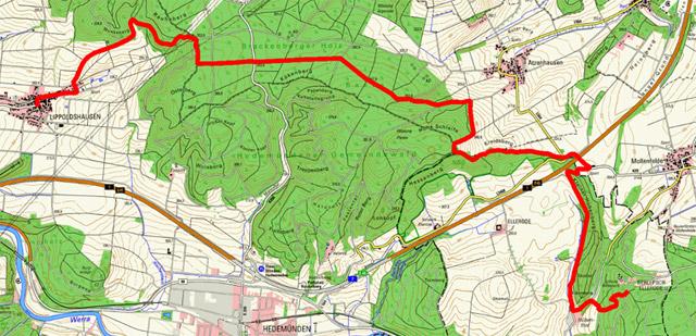 Werra-Burgen-Steig Hessen – Abschnitt 2