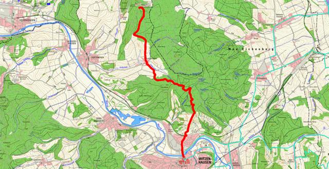 Werra-Burgen-Steig Hessen – Abschnitt 3
