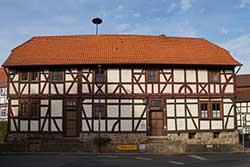 Repräsentatives Fachwerkhaus in Lippoldshausen