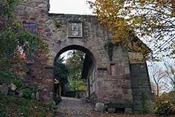 Äußeres Burgtor Schloss Berlepsch