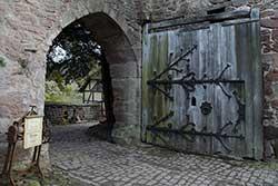 Inneres Burgtor Schloss Berlepsch