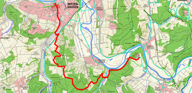 Werra-Burgen-Steig Hessen – Abschnitt 4