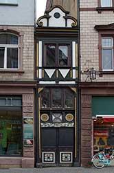 Schmales Haus