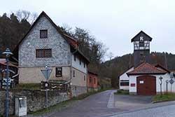 Rennsteig in Hörschel