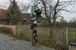 Rennsteigbeginn in Hörschel