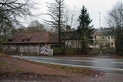 Ruine des früheren Jagdschlosses Hohe Sonne