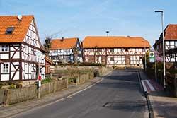 Haltestelle Brückenstraße in Lippoldshausen