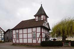 Die evangelische Kirche Albshausen