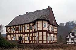 Rittergut bzw. Schloss Werleshausen