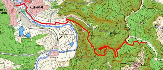 Werra-Burgen-Steig Hessen – Abschnitt 6