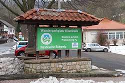 Wanderparkplatz Hitzelrode