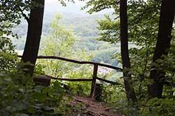 Der Werra-Burgen-Steig Hessen am Weißen Graben
