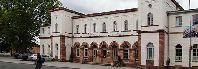 Alter Bahnhof in Eschwege