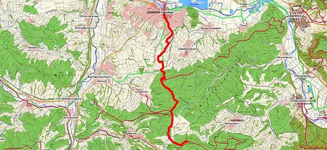 Wegpunkte Werra-Burgen-Steig Hessen – Abschnitt 8