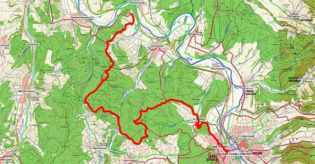 Werra-Burgen-Steig Hessen – Abschnitt 5