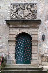 Eingang evangelische St. Marien-Kirche