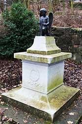 Dorothea Grimm wurde in Eisenach auf dem Alten Friedhof beigesetzt
