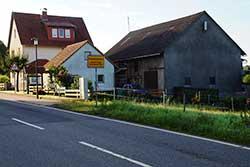Elisabethpfad Ortseingang Rittmannshausen