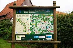 """Wanderportal """"Werra-Burgen-Steig Hessen"""" in Altefeld"""