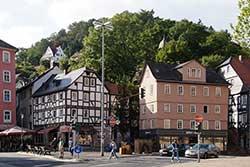 Kreuzung der Elisabethstraße mit der Deutschhausstraße