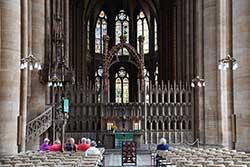 Elisabethkirche innen