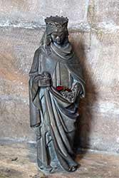 Skulptur der Hl. Elisabeth