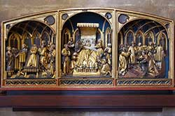 Triptychon in der Elisabethkirche
