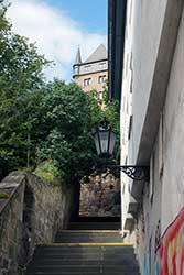 Treppe zum Landgrafenschloss