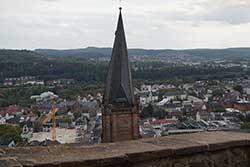 Blick vom Landgrafenschloss